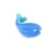 InnoBaby, Miękka silikonowa myjka-rybka do kąpieli niebieska