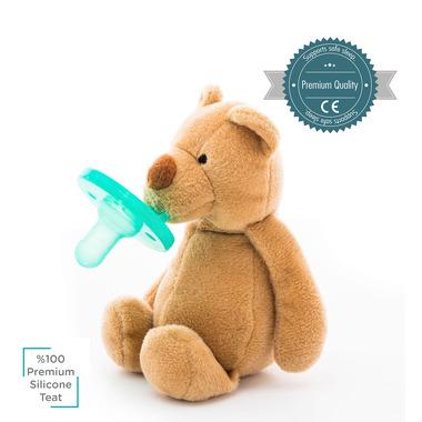 Minikoioi, Smoczek uspokajający z przytulanką Brown Bear