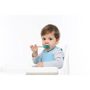 Minikoioi, Łyżeczki do nauki samodzielnego jedzenia zielona szara