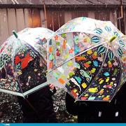 Djeco, Parasol przeciwdeszczowy w deszczu