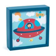 Djeco, Magiczny obrazek lampka kosmonauta