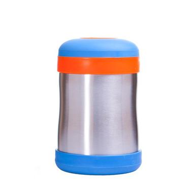 Termiczny pojemnik na żywność BABYFOOD (niebiesko-pomarańczowy)