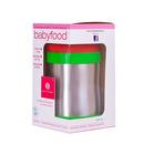Termiczny pojemnik na żywność BABYFOOD (zielono-czerwony)