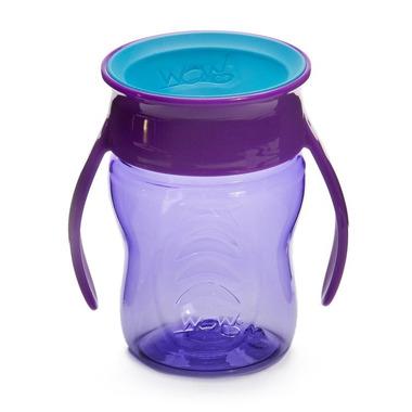 WOW, CUP 360 fioletowy przejściowy kubek treningowy 207 ml