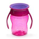 WOW, CUP 360 różowy przejściowy kubek treningowy 207 ml