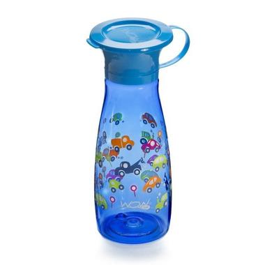 WOW, CUP 360 Mini, niebieski w autka, 350 ml