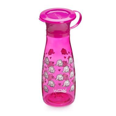 WOW, CUP 360 Mini, różowy w słonie, 350 ml