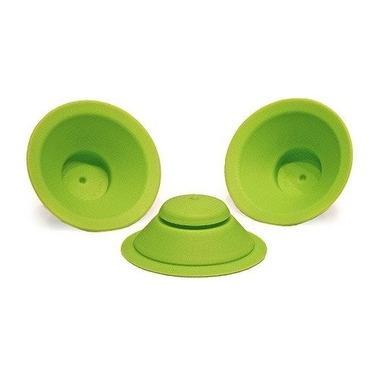 WOW, Zapasowe silikonowe uszczelki do kubeczka WOW Cup Kids, kolor zielony