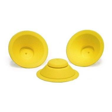 WOW, Zapasowe silikonowe uszczelki do kubeczka WOW Cup Kids, kolor żółty