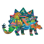 Mudpuppy, Puzzle kształty Dinozaury 300 elementów 7+