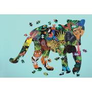 Mudpuppy, Puzzle kształty Las deszczowy 300 elementów 7+