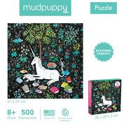 Mudpuppy, Puzzle rodzinne Zaczytany jednorożec 500 elementów 8+