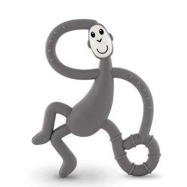Matchstick Monkey, Dancing Grey Terapeutyczny Gryzak Masujący ze Szczoteczką