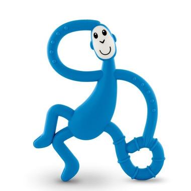 Matchstick Monkey, Dancing Blue Terapeutyczny Gryzak Masujący ze Szczoteczką
