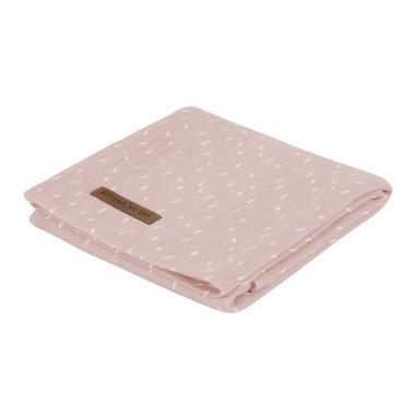 Little Dutch, Otulacz 120 x 120 cm Pink Sprinkles