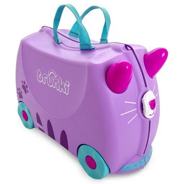 Trunki, Jeżdżąca walizeczka - Kotek Cassie + naklejki