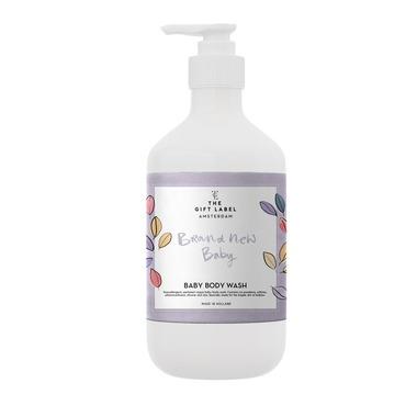 The Gift Label, Wegański żel do mycia dla dzieci Brand New Baby 250 ml