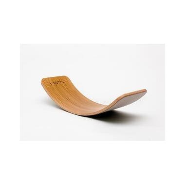 Wobbel, Deska do balansowania Original Bamboo z filcem - baby mouse