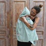La Millou, By Maciej Zakościelny - Ręcznik Bamboo Soft - Newborn - Grey - Braveheart Lion