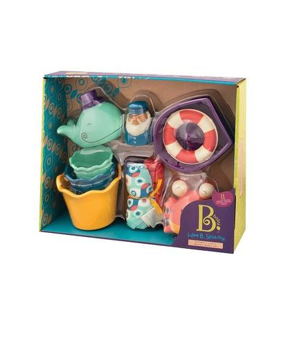 Btoys, Wee B. Splashy zestaw prezentowy do kąpieli dla niemowląt