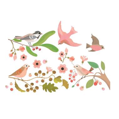 Djeco, Naklejki na okno Romantyczne Ptaki