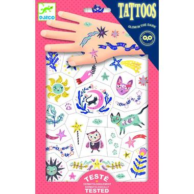 Djeco, Tatuaże Sny - świecące w ciemności