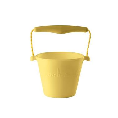 Scrunch-bucket Wiaderko silikonowe, Pastel Żółty