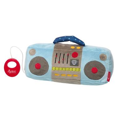 Sigikid, Niebieskie radio z pozytywką Papa&Me