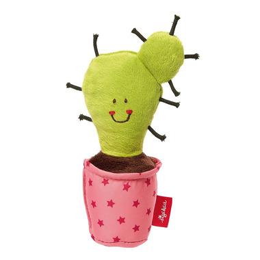 Sigikid, Miękka mini – grzechotka Kaktus w różowej doniczce Red Stars