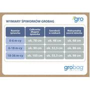 Gro Company, Śpiworek Grobag Sea Horsey z pokrowcem - Travel 0,5 tog 6-18 m-cy