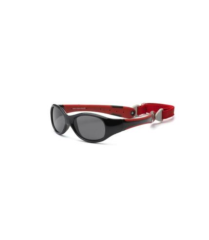 Okulary przeciwsłoneczne Explorer Polarized - Black and Red 0+