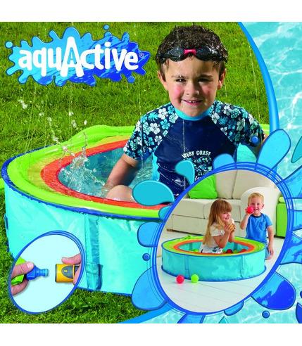 Basen z fontanną Aqua Active