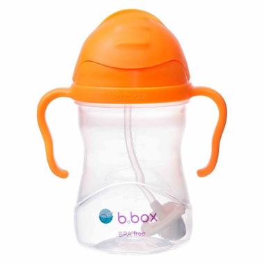 B.Box, Innowacyjny bidon ze słomką pomarańczowy