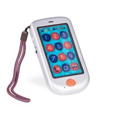 Btoys, dotykowy telefon komórkowy HiPhone SREBRNY