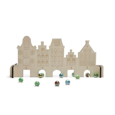 Buiten Speel, Gra zamek i szklane kulki