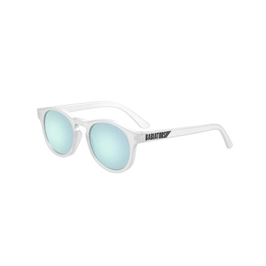 Babiators, Okulary przeciwsłoneczne Transparent with Light Blue Lenses (The Jet Setter) 0-2