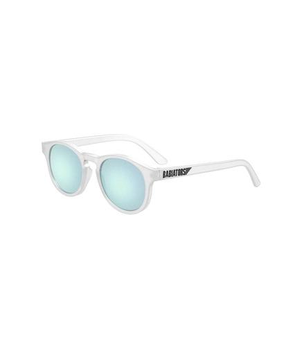 Babiators, Okulary przeciwsłoneczne dla dzieci Transparent with Light Blue Lenses (The Jet Setter) 6+