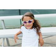 Babiators, Okulary przeciwsłoneczne dla dzieci Transparent with Light Purple Lenses (The Trend Setter) 3+