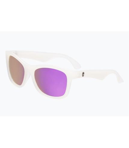 Babiators, Okulary przeciwsłoneczne dla dzieci Transparent with Light Purple Lenses (The Trend Setter) 6+