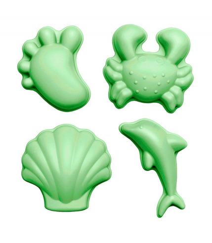 Scrunch,  Silikonowe foremki Pastelowy Zielony