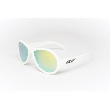 Babiators, Okulary przeciwsłoneczne dla dzieci Aces Aviator Wicked White Orange 7-14
