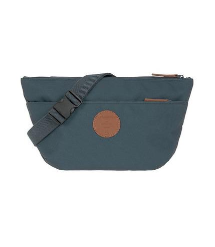 Lassig, Green Label Torba nerka dla mam Bum Bag Adventure Petrol