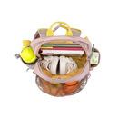 Lassig, Plecak z termoizolacyjną kieszenią i naklejkami Adventure Tipi