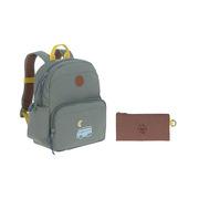 Lassig, Plecak z termoizolacyjną kieszenią i naklejkami Adventure Bus