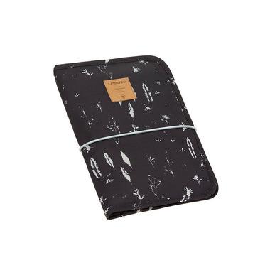 Lassig, Casual Label Etui-organizer na akcesoria do przewijania Feathers black