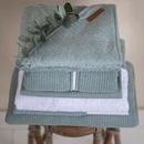 Little Dutch, Letni śpiworek bawełniany bez rękawków Pure mint 90 cm