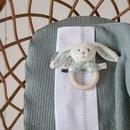 Little Dutch, Letni śpiworek bawełniany bez rękawków Pure mint 110 cm