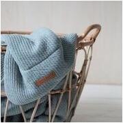 Little Dutch, Letni śpiworek bawełniany bez rękawków Pure mint 70 cm