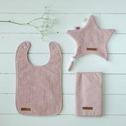 Little Dutch, Letni śpiworek bawełniany bez rękawków Pure pink 70 cm