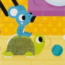 Janod, Puzzle sensoryczne 20 elementów Zwierzęta domowe